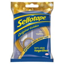 Sellotape 50M With 5M Gold Roll