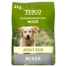Tesco Dry Food Mixer Adult Dog 4Kg
