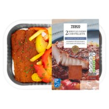 Tesco 2 Moroccan Inspired Cod Fillets 320G