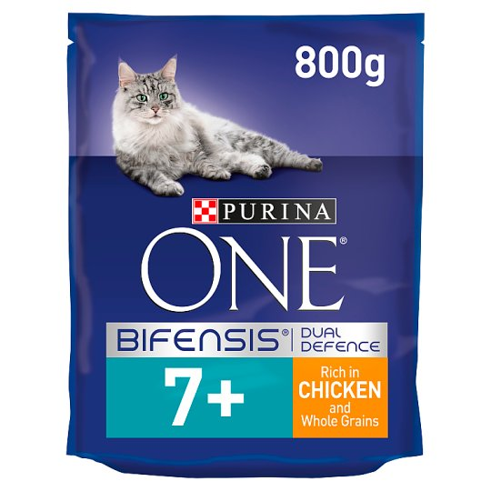 image 1 of Purina One Cat Senior 7+ Chicken And Whole Grains 800G