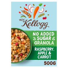 Wk Kellogg No Added Sugar Raspberry Apple & Carrot Granola 500G