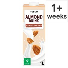 Tesco Unsweetened Almond Milk Alternative 1L