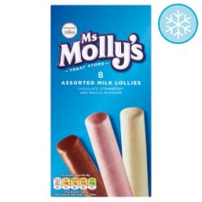Ms. Molly's Milk Lollies 8X35ml