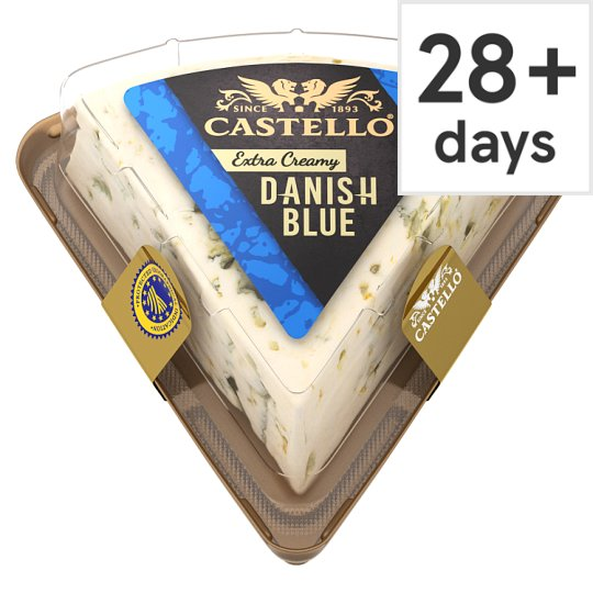 Castello Danish Blue Extra Creamy Cheese 125 G