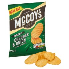 image 2 of Mccoy's Cheddar And Onion Crisps 47.5 G