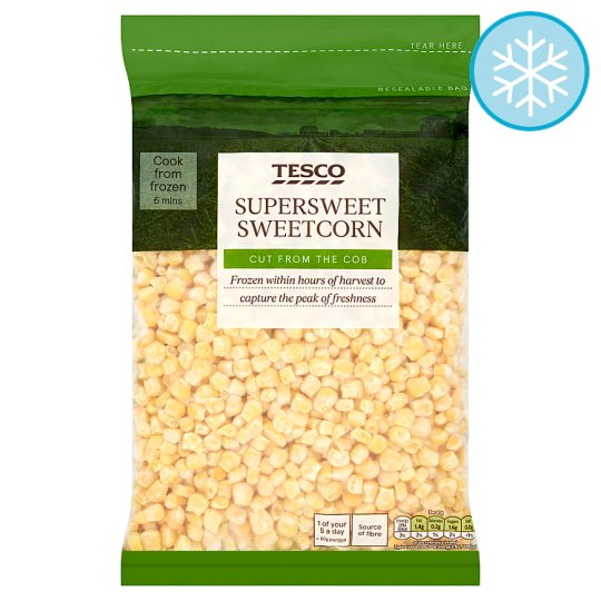 Tesco Sweetcorn 1Kg