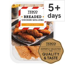 Tesco Breaded Chicken Goujons 270G