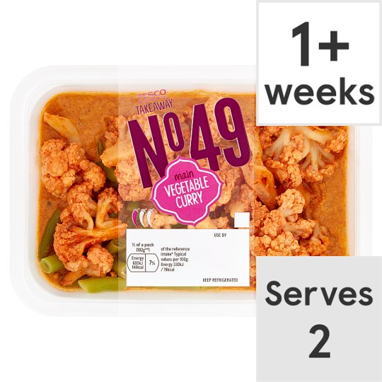Tesco Takeaway Vegetable Curry 385G