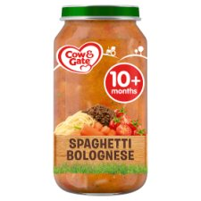 Cow And Gate Spaghetti Bolognese Jar 250G 10 Mth+