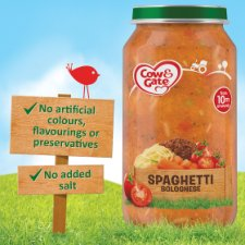 image 2 of Cow And Gate Spaghetti Bolognese Jar 250G 10 Mth+