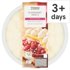 Tesco Raspberry Trifle 600G