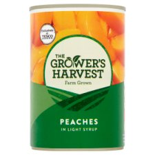 Growers Harvest Peach Slices Syrup 410G