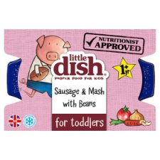 Little Dish Sausage And Mash With Beans 200G