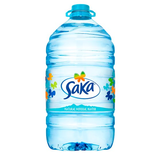 Saka Natural Mineral Water 5 Litre