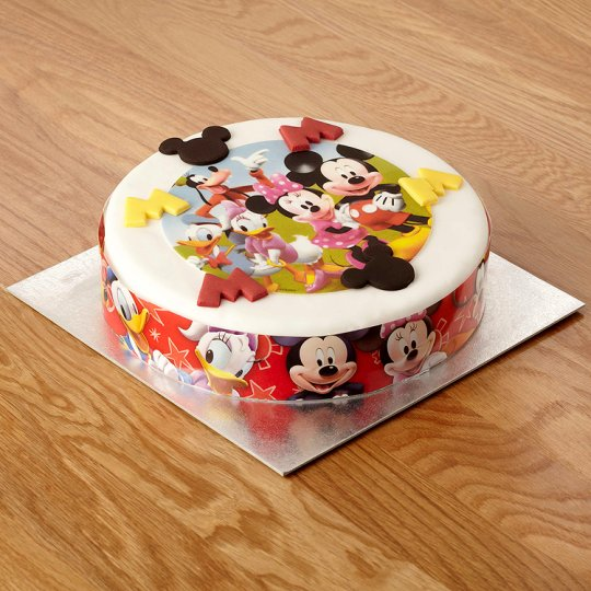 Cake With Photo Tesco : Mickey Mouse Celebration Cake - Groceries - Tesco Groceries