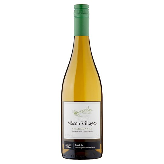 Tesco Macon Villages Blanc 75Cl