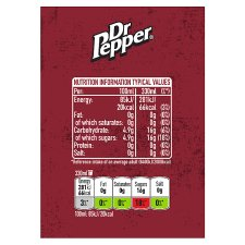 image 3 of Dr Pepper Regular 6 X 330 Ml Pack