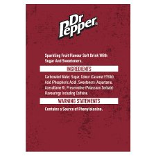 image 2 of Dr Pepper Regular 6 X 330 Ml Pack