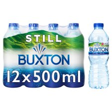 Buxton Mineral Water 12 X 500Ml