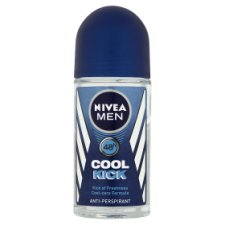 Nivea Men Cool Kick Antiperspirant Deodorant Roll On 50Ml