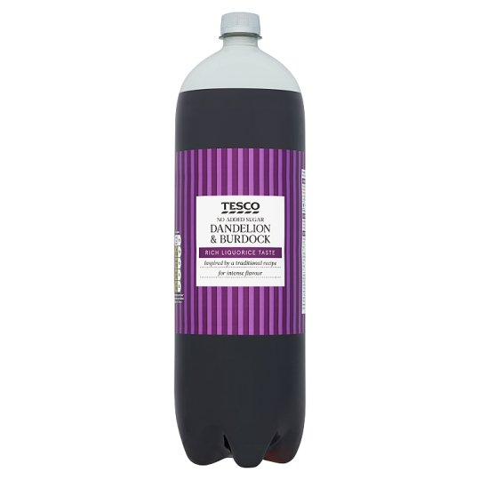 Tesco No Added Sugar Dandelion And Burdock 2L