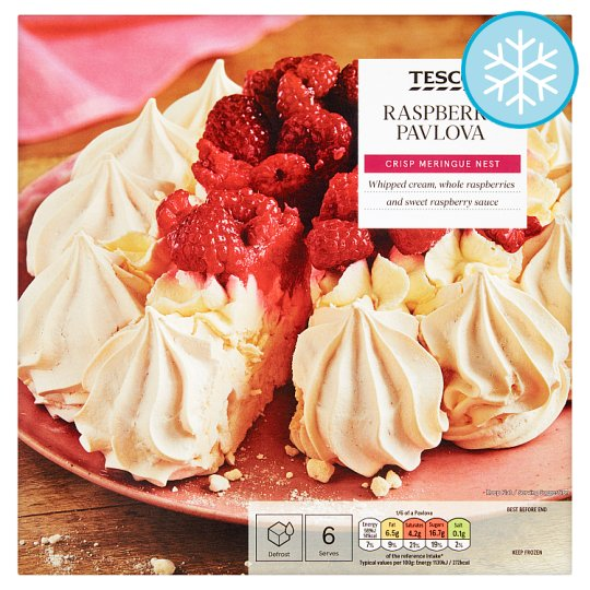 Tesco Raspberry Pavlova 310G