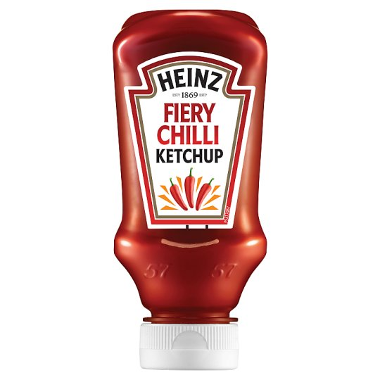 Heinz Tomato Ketchup With Fiery Chilli 255G
