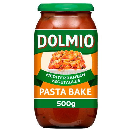 Dolmio Pasta Bake Roasted Vegetable Mediterranean Sauce 500G ...