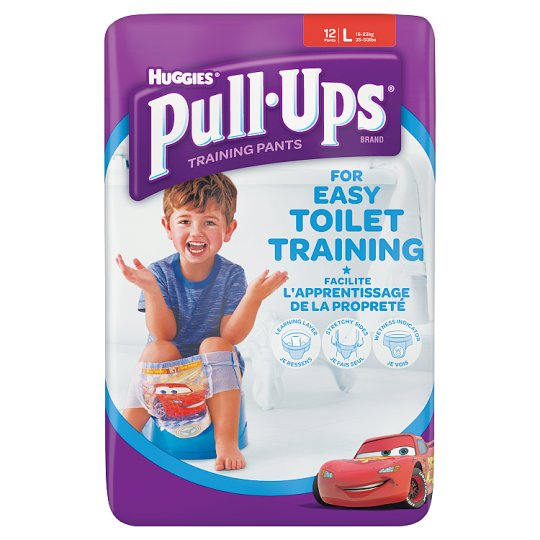 Huggies Pull Ups Size 6 Boy Carry Pack 12