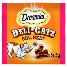 Dreamies Deli-Catz Treats With Beef 5X5g