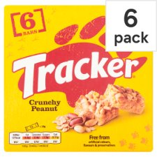 Tracker Peanut 6 Pack 156G