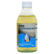 Tesco Dry Tickly Cough Syrup 200Ml