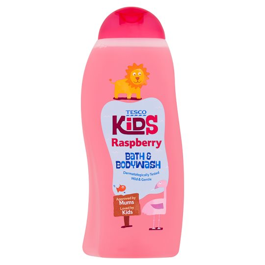 Tesco Kids Raspberry Bubble Bath500ml