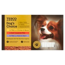 Tesco Dog's Choice Dog Food Trays 6 X150g
