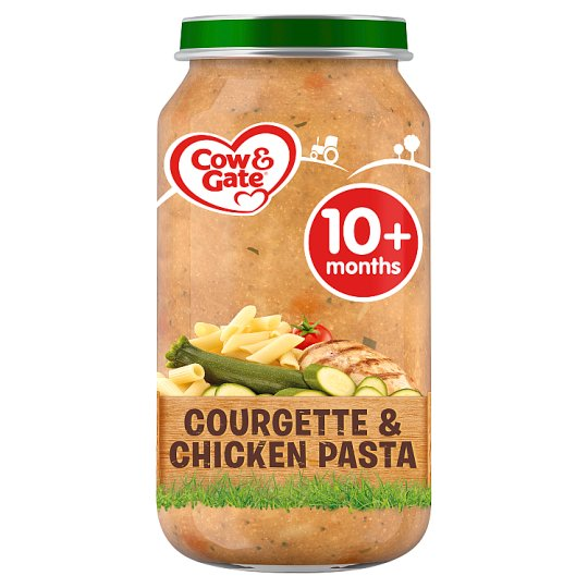 image 1 of Cow & Gate Stage 3 Courgette Chicken Pasta 250G Jar