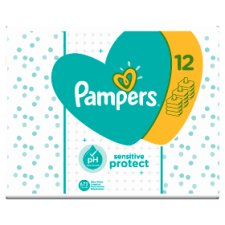 Pampers Sensitive Baby Wipes 12X56 Pack 672 Wipes