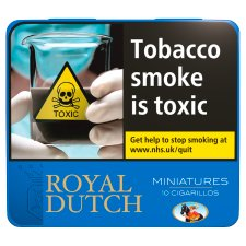 Royal Dutch Blue Miniature 10 Pack