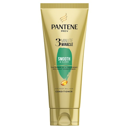 image 1 of Pantene Smooth And Sleek 3 Minute Miracle 200Ml