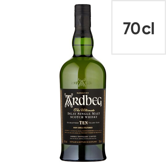 Ardbeg 10 Year Old Scotch Whisky 70Cl