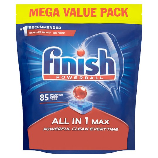 image 1 of Finish All In One Max Original 85 Dishwasher Tablets
