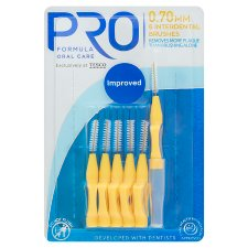 Pro Formula Interdental Brushes 0.7 6 Pack