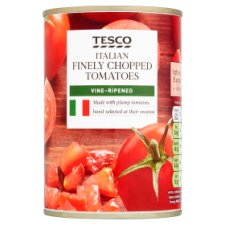Tesco Italian Finely Chopped Tomatoes 400G