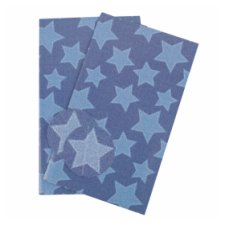 Tesco Denim Star 2 Sheets 2 Tags