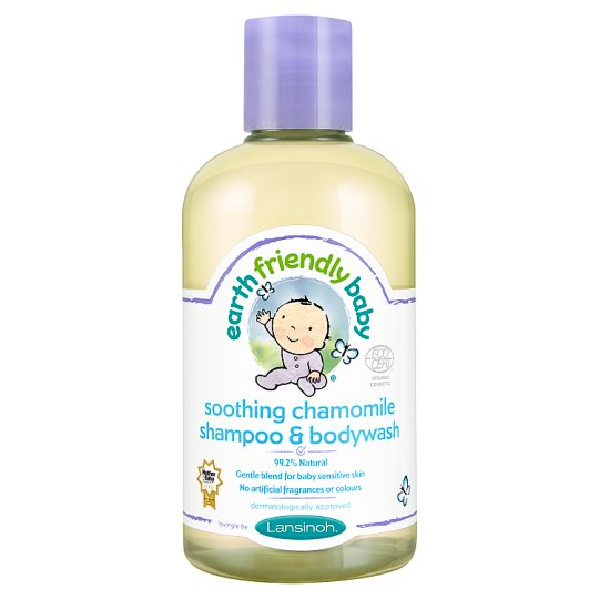 Earth Friendly Baby Chamomile Bodywash 250Ml