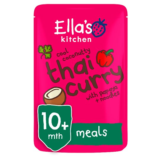 ellas kitchen thai curry stage 3 190g - Ellas Kitchen