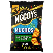 image 1 of Mccoy's Muchos Sour Cream And Onion 180G