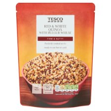 Tesco Red And White Quinoa And Bulgar Wheat 250G