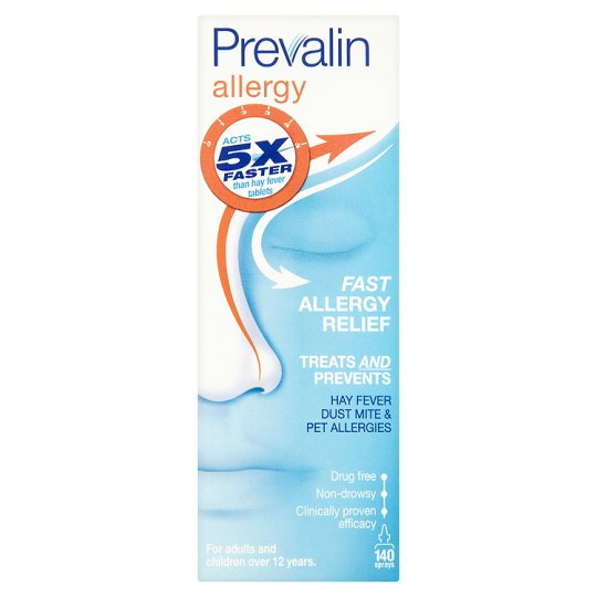 Prevalin Allergy Relief Spray