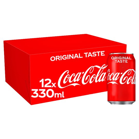 Coca Cola Regular (Gb) 12 X 330Ml