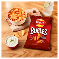 image 2 of Walkers Bugles Southern Style Bbq Snacks 110 G